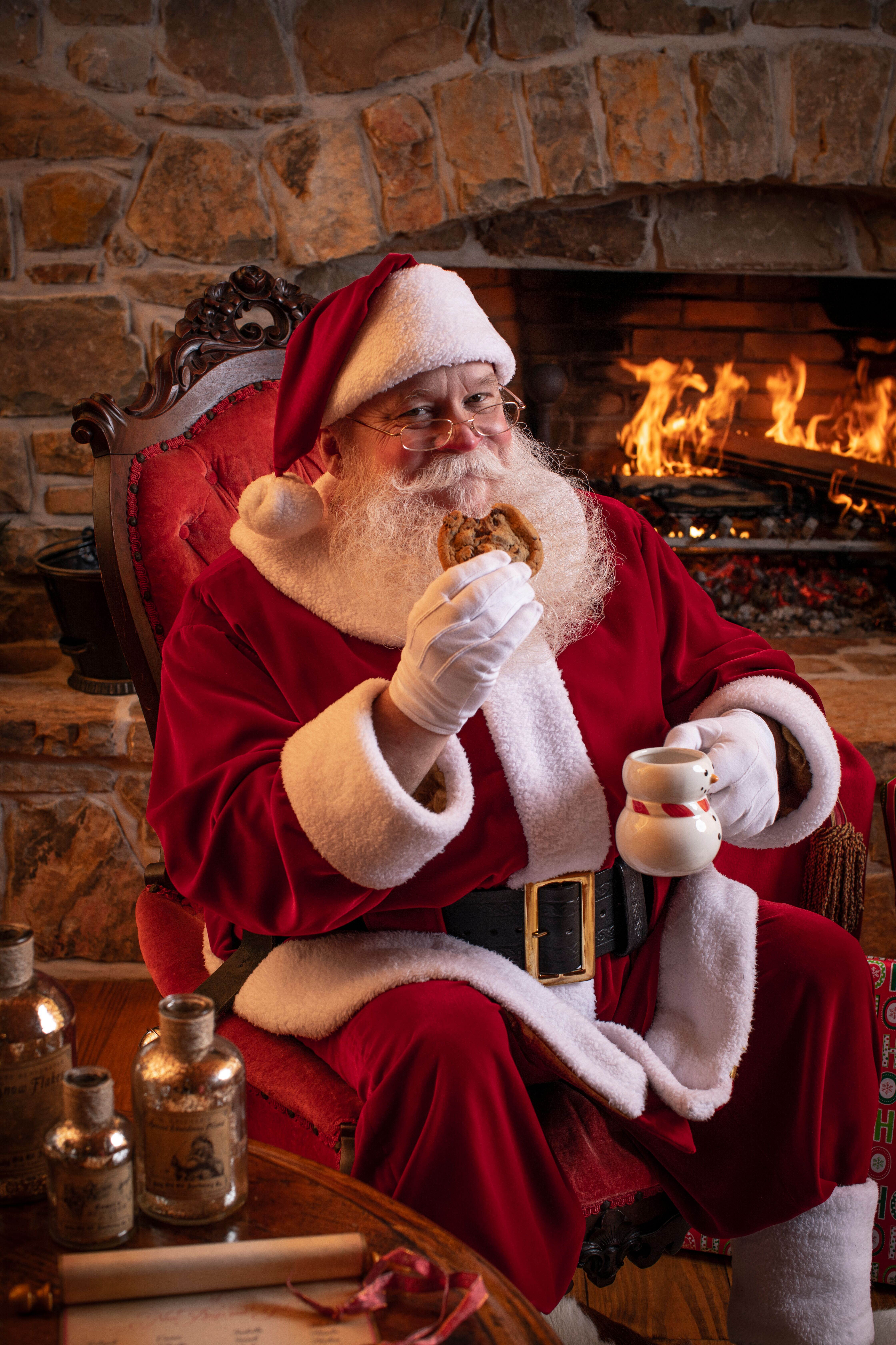 breaskfast with Santa Claus